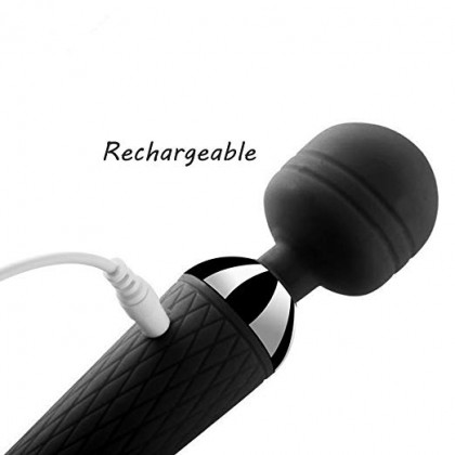 Massager VIBRATOR POWERFUL SPIRAL CURVED FLEXIBLE